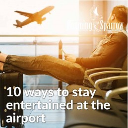 10 ways to stay entertained at the airport