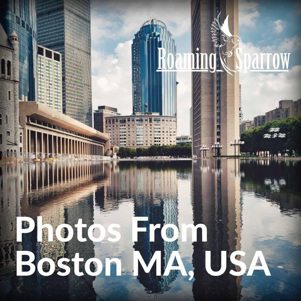 Boston MA, 2019