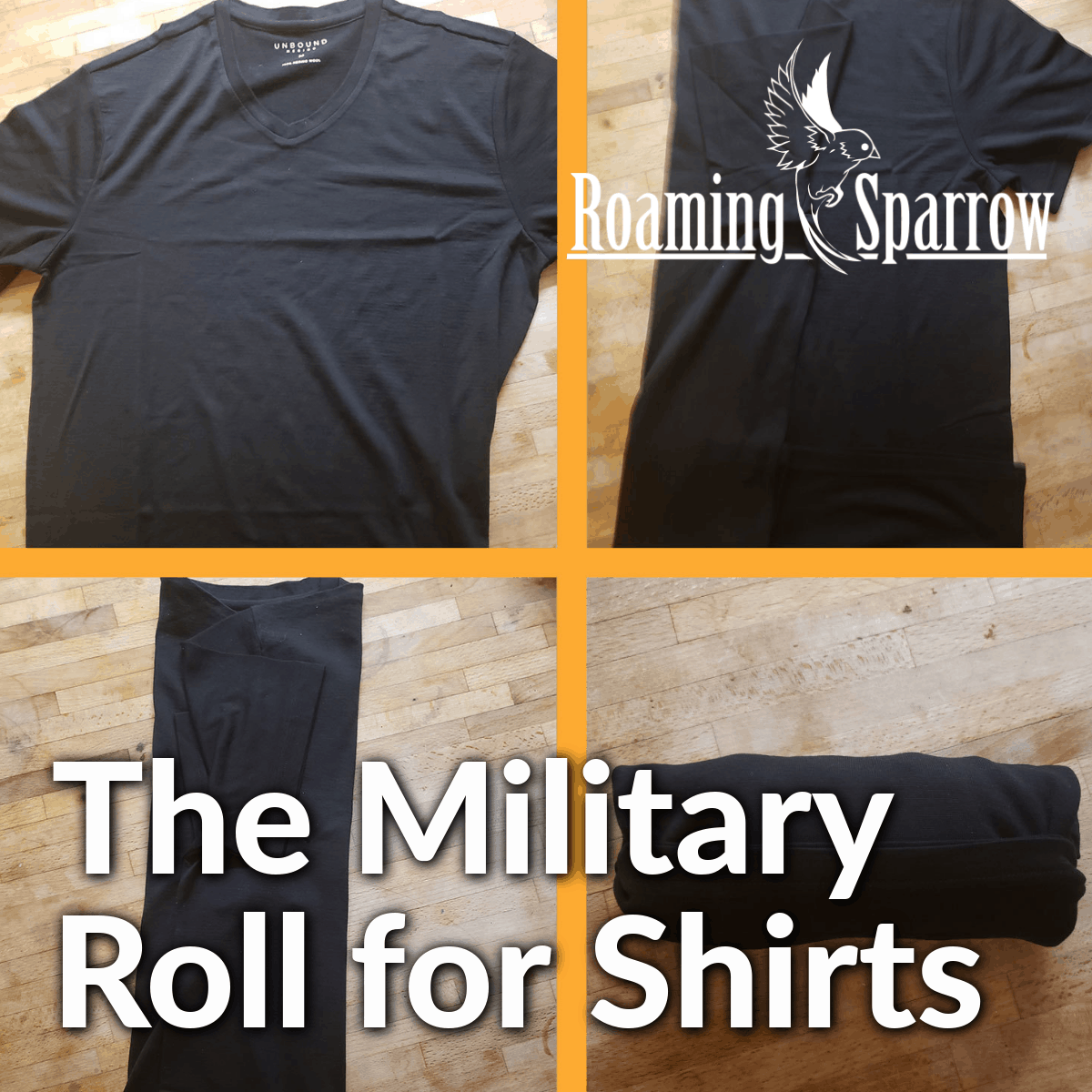 The Military Shirt Roll