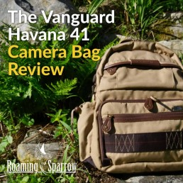 Vanguard Havana 41 Camera Bag Review