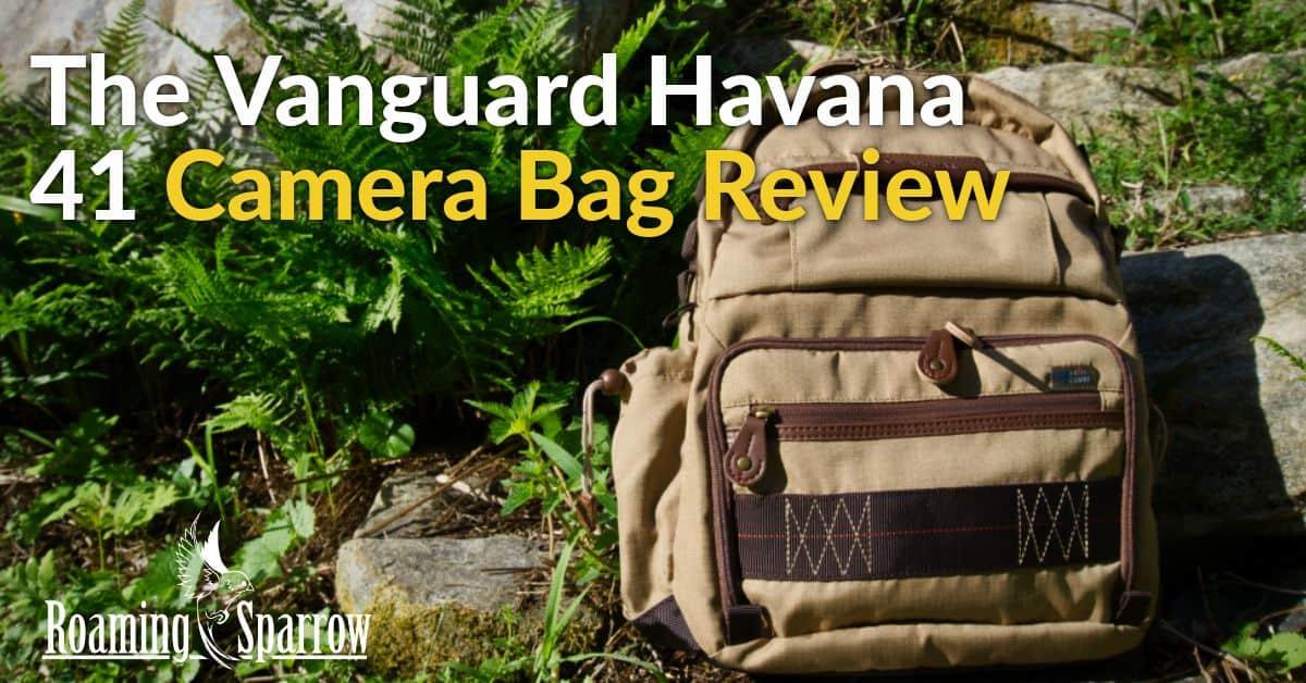 Vanguard Havana 41 Camera Bag Review