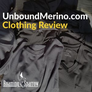 UnboundMerino.com Clothing Review