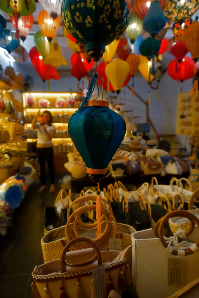 Making a Lantern in Hoi An