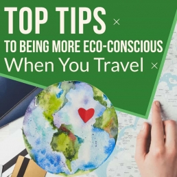 How Can You Be More Eco-conscious When You Travel?